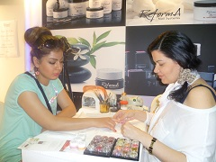 Services and prices for nail extension and nail art