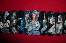 "1st place at the European Championships in Prague, 2009 in the category ""Art painting nails»"