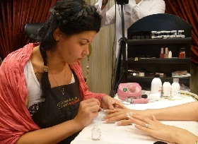 nail artist and trainer Inna Gorodnova