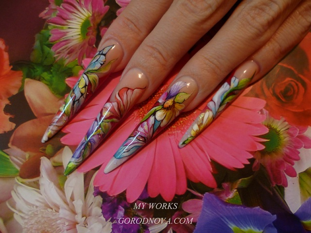 Painting nail art fast salon nail art variants 3 days nail design courses nail art painting prinsesfo Choice Image
