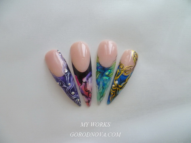 Nagel gel-design