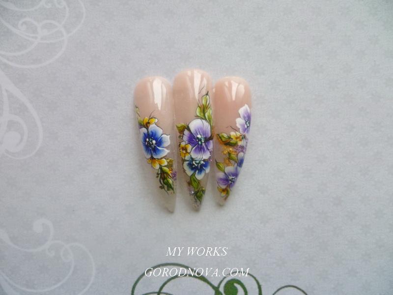 Лучший дизайн ногтей 2016
