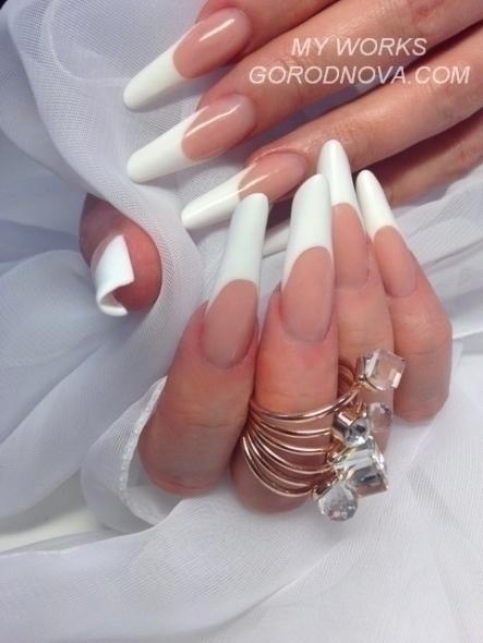 Покрытие гелем ногти тюмень
