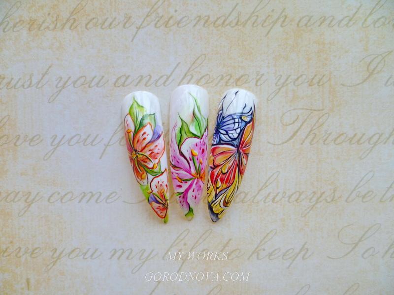 Мастер классы по художественной росписи ногтей