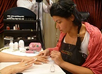 VIP nail artist and educator Inna Gorodnova